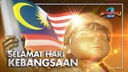 """BoBoiBoy Movie 2 """"Hero Malaysia"""" Selamat Hari Kebangsaan Ke-62!"""