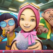 Ying, Yaya and Gopal celebrate birthday Fang