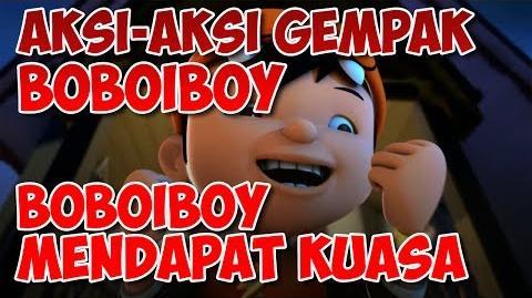 BoBoiBoy Kali Pertama BoBoiBoy Mendapat Kuasa
