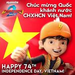 Happy 74th Independence Day, Vietnam!