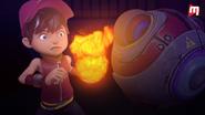 BoBoiBoy Api terkejut nampak Power Sphera