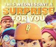This Wednesday! A Surprise For You