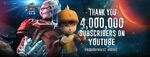 Thank You 4,000,000 Subscribers on YouTube
