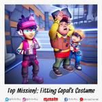 Fitting Gopal's Costume