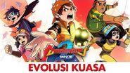 Komik BoBoiBoy Movie 2 - Evolusi Kuasa