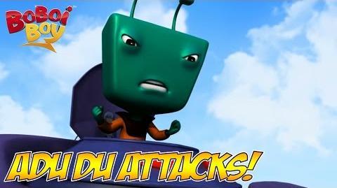 BoBoiBoy (English) S1E2 Adu Du Attacks!