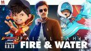 BoBoiBoy Movie 2 OST Fire & Water - Faizal Tahir Official Lyric Video