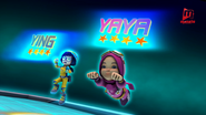 Ying dan Yaya dalam Galaxy Episod 7