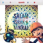 Greetings Israk & Mikraj