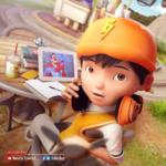 BoBoiBoy taking online classes