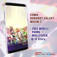 BoBoiBoy Galaxy Season 2 wallpaper (1)