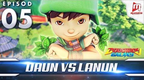 BoBoiBoy Galaxy EP05 Daun VS Lanun - (ENG Subtitle)