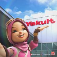 Yaya in Yaklut factory