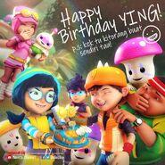 Happy Birthday Ying! 2020