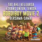 Invite your family to watch BBBM2!
