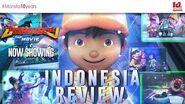 BoBoiBoy Movie 2 - Indonesia Review