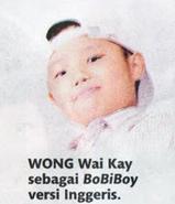 Wong Wai Kay untuk versi Inggeris