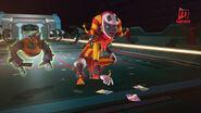 Jokertu melihat Cici Ko berlari