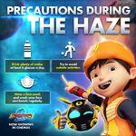 Precautions During the Haze