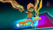 Kad BoBoiBoy Petir