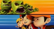 Multi-Monster VS BoBoiBoy Kuasa Tiga