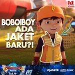 BoBoiBoy has a new jacket!