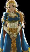 BotW Zelda The Champions' Ballad Artwork