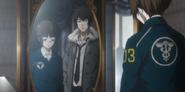 Kogami comforts Akane