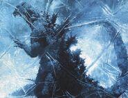 GFW - Frozen Godzilla