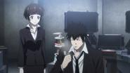 Tsunemori and Kogami
