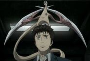 Shinichi and Migi- Combat Mode