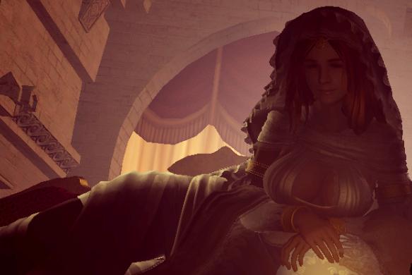 Gwynevere, Księżniczka Blasku Słonecznego