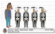 S5E08 Goat Skeleton Model Sheet