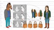 Kelsey purse model sheet