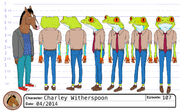 Charley Witherspoon model sheet