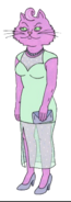 Princess Carolyn S1 green dress