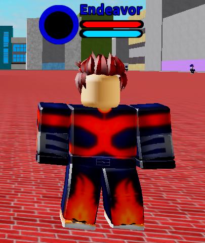 Boku No Hero Academia Roblox Endeavor Boku No Roblox Remastered Wiki Fandom