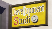 Development Studio Sign