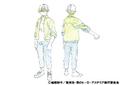 Shoto Todoroki Casual Shading TV Animation Design Sheet
