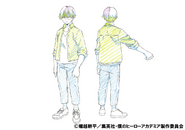 Shoto Todoroki Casual Shading TV Animation Design Sheet