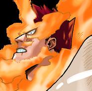 Endeavor Colored Manga Portrait