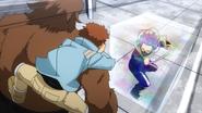 Kosei captures Hitoshi with Air Prison