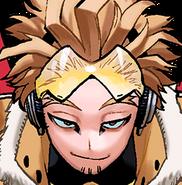 Hawks Colored Manga Portrait