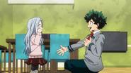 Izuku cheers up Eri