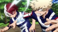 Shoto vs Katsuki obstacle race