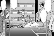 Koichi avoiding Akira's Attacks