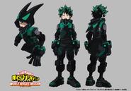 Izuku Concept Art (World Heroes' Mission)