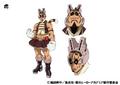 Tora TV Animation Design Sheet