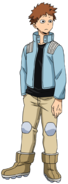Kosei Tsuburaba Hero Costume (Anime)