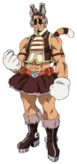 Yawara Chatora Hero Costume (Anime)